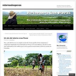 Un año del retorno a Las Pavas