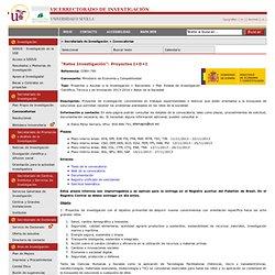 """Retos Investigación"": Proyectos I+D+I"