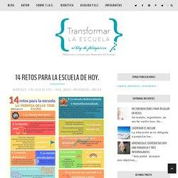 14 RETOS PARA LA ESCUELA DE HOY. - Transformar la escuela