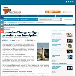Retouche d'image en ligne gratuite, sans inscription