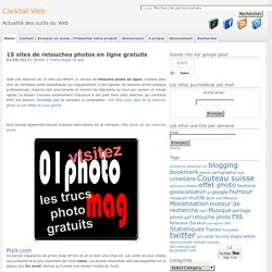 14 sites de retouches photos en ligne gratuits