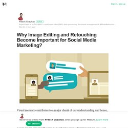 Why Image Editing and Retouching Become Important for Social Media Marketing?