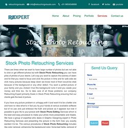 Stock Photo Retouching Online USA