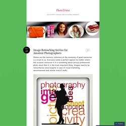Image Retouching Service for Amateur Photographers
