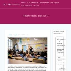 Retour de(s) classes ? – Le fil des communs