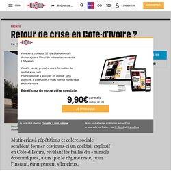 Retour de crise en Côte-d'Ivoire?
