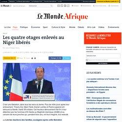 Retour sur les trois ans de détention au Niger des otages libérés