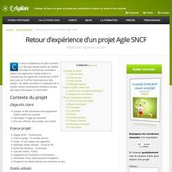 Retour d'expérience d'un projet Agile SNCF