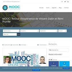 MOOC : Retour d'expérience de participants