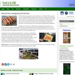 Retour du local : une légumerie en Ile-de-France - Food 2.0 LAB