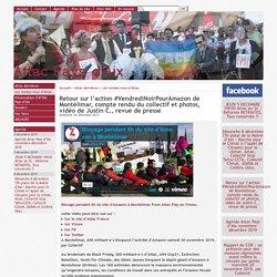 Retour sur l'action #VendrediNoirPourAmazon de Montélimar, compte rendu du collectif et photos, vidéo de Justin C., revue de presse - [Attac Pays d'Aix ]