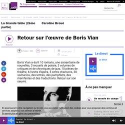 Retour sur l'œuvre de Boris Vian