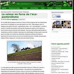 Le retour en force de l'éco-pastoralisme » ecoloPop