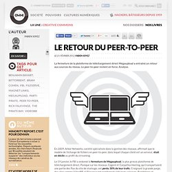 Le retour du peer-to-peer