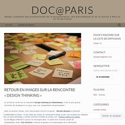Retour en images sur la rencontre « Design thinking