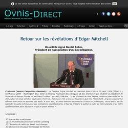 Retour sur les révélations d'Edgar Mitchell
