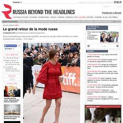 Le grand retour de la mode russe