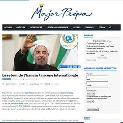 Le retour de l'Iran sur la scène internationale - Major-Prépa