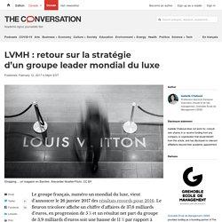 LVMH : retour sur lastratégie d'ungroupe leader mondial duluxe