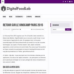 Retour sur le Vinocamp Paris 2015