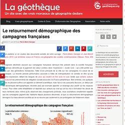 Le retournement démographique des campagnes françaises