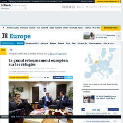 Le grand retournement européen sur les réfugiés