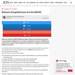 Retours d'expériences sur les MOOC