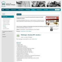 Institut des Politiques Publiques – IPP