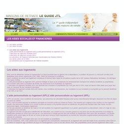 GUIDE 2012 DES MAISONS DE RETRAITE - Les aides sociales et financières - Les aides au logement