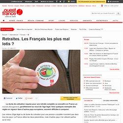 Retraites. Les Français les plus mal lotis? - Social