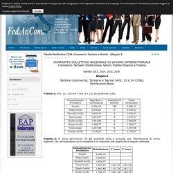 Tabelle Retributive CCNL Commercio Terziario e Servizi - Allegato A