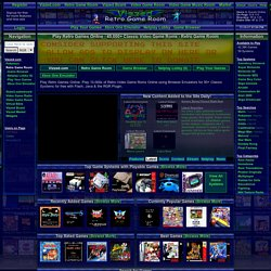 Play Retro Classic Games roms Online Free