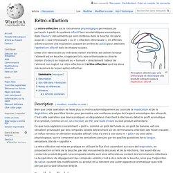Rétro-olfaction