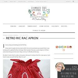 Retro Ric Rac Apron