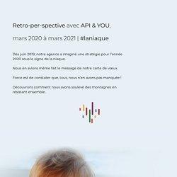 => Retro-per-spective avec API & YOU