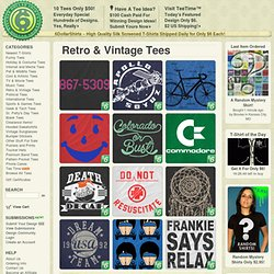 Retro & Vintage Tees :: 6DollarShirts.com