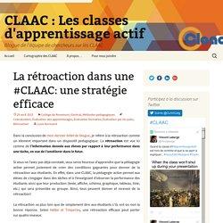 La rétroaction dans une #CLAAC: une stratégie efficace