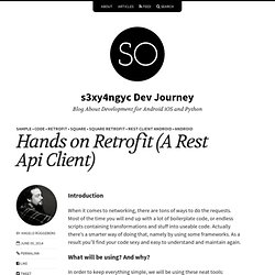 Hands on Retrofit (A Rest Api Client) – s3xy4ngyc Dev Journey