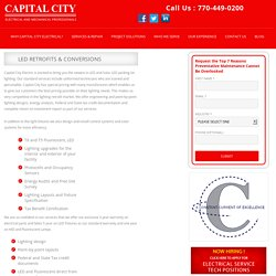 LED Retrofits & Conversions - Capital city services