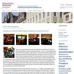 Kultur-Tipp: Retrogames « Blog des Historischen Museums Frankfurt