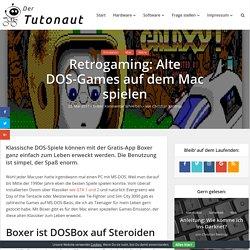 Retrogaming: Alte DOS-Games auf dem Mac spielen - Der Tutonaut