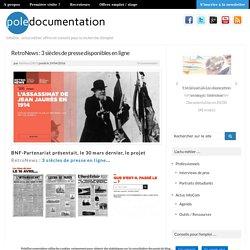 RetroNews : 3 siècles de presse disponibles en ligne