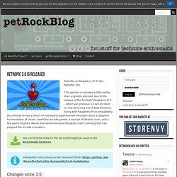 RetroPie 3.6 is Released – petRockBlog