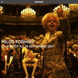 Rétrospective Milos Forman - La Cinémathèque française