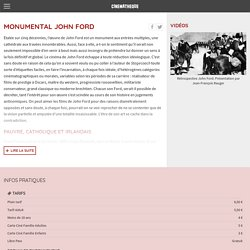 Rétrospective John Ford