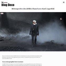 Rétrospective des défilés Chanel avec KarL Lagerfeld