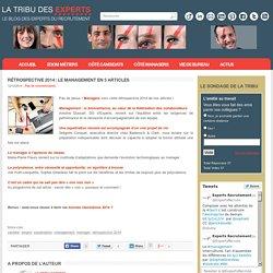 Rétrospective 2014 : le management en 5 articles