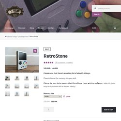 RetroStone – 8BCraft: RetroStone & Raspiboy