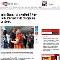 Inde: Obama retrouve Modi à New Delhi pour une visite chargée en symboles