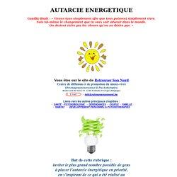 RETROUVER SON NORD : autarcie énergétique